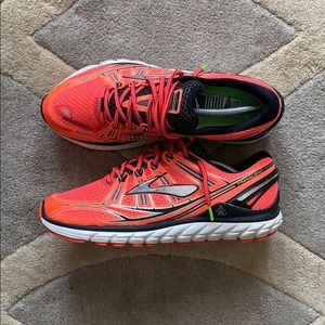 Men's Brooks Transcend Running Shoes size 10